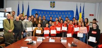 Tinerii clujeni cu rezultate deosebite în an Centenar au fost premiați de Consiliul Județean Cluj