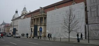 Un alt palat emblematic al Clujului începe să își recapete splendoarea.