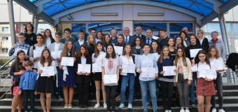 Tinerii merituoși ai Clujului au fost premiați de Consiliul Județean