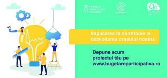 Punctul de informare pentru Bugetare participativă Cluj-Napoca 2019 se mută la sediul Primăriei Cluj-Napoca, Calea Moților, nr. 1-3