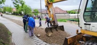 Modernizarea DJ 161C Iclod – Aluniș – Corneni, reluată.