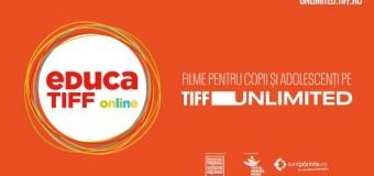 20 de filme pentru copii și adolescenți la EducaTIFF online.