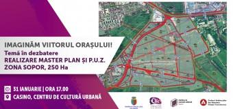 Dezbatere- Master planul PUZ Sopor prezentat și analizat în cadrul primei întâlniri din acest an a Centrului de Inovare și Imaginație Civică