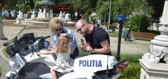 POLIŢIŞTII CLUJENI ALĂTURI DE COPII, DE 1 IUNIE