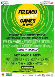 Feleacu-Summer-Games---Afis-Online