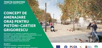 Dezbatere CIIC: spațiu public în cartierul Grigorescu.