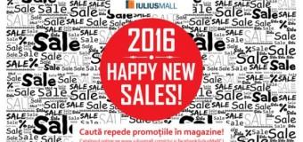 """""""Happy New Sales"""", cu promoții de până la 70%, la Iulius Mall Cluj"""