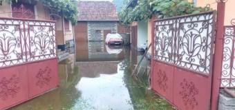 ISU Cluj a intervenit prompt după ploaia de ieri pentru a ajuta locuitori din mai multe localități ale județului