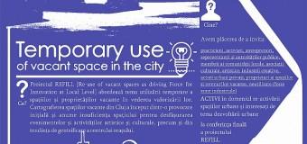 REFILL – un proiect pentru valorificarea spațiilor urbane