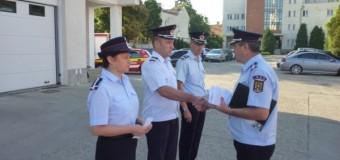 53 de pompieri din cadrul ISU Cluj au fost avansaţi la termen