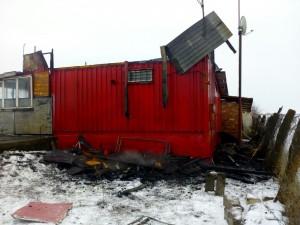 Incendiu anexa agricola Bontida 03.03.2018 - 1