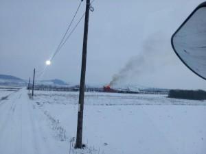 Incendiu anexa agricola Bontida 03.03.2018 - 4