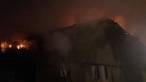 Incendiu casa de locuit Floresti 02.03.2018 - 1