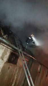 Incendiu casa de locuit Floresti 02.03.2018 - 2
