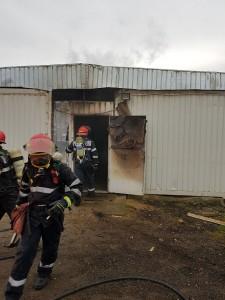 Incendiu containere modulare - Bulevardul Muncii - Cluj-Napoca 1