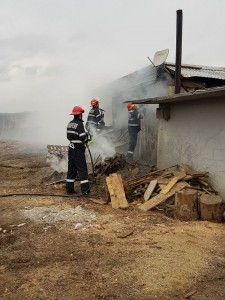 Incendiu containere modulare - Bulevardul Muncii - Cluj-Napoca 3