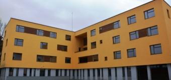 Construcția noului internat al Liceului pentru Deficienți de Auz, finalizată.