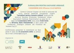 Invitație - Dialoguri Urbane