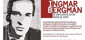 """Expoziția -""""Ingmar Bergman și Influența Sa în Artă și Modă"""" la TIFF 2018"""
