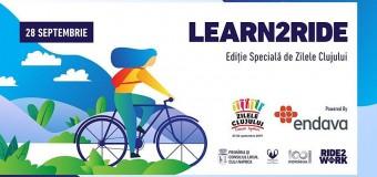 Ride2Work revine cu cea de-a doua ediție Learn2Ride în cadrul lunii mobilității