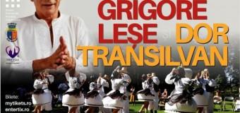 """""""Grigore Leșe si Dor Transilvan"""" -spectacol în parcul Etnografic."""