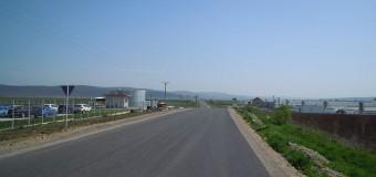S-a finalizat turnarea covorului asfaltic pe drumul județean 107F limită cu județul Alba – Luncani (DN 15)