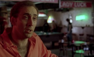 Nicolas Cage in Leaving Las Vegas