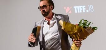 """""""România e locul în care am făcut filme pe care le iubesc și în care îmi doresc să revin pentru  noi proiecte""""  Nicolas Cage, premiat la TIFF 2019"""