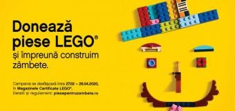 PREMIERA pentru CLUJENI: S-a lansat Piese pentru Zambete, primul program de donare de piese LEGO® din Romania