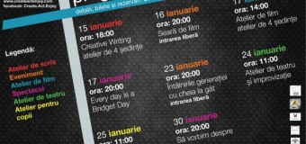 Create.Act.Enjoy lansează  programul cultural al lunii ianuarie şi inaugurează spaţiul cultural THE BOX