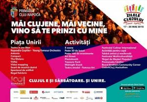 Program Zilele Clujului 2018