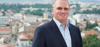 Remus Lăpușan candidează la funcția de președinte al CJ Cluj.