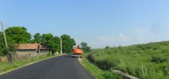 Au demarat lucrările de asfaltare pe sectorul de drum Gherla – Fizeșu Gherlii