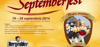 Ia-ți prietenii și vino la Septemberfest!