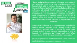 Semifinaliști români - Rural Revitalisation