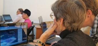 Cursuri gratuite de iniţiere în utilizarea calculatorului, pentru seniori