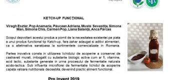 """Aproape 80 de produse prezentate de studenții USAMV Cluj-  Napoca, la Salonul """"Pro Invent 2019""""."""