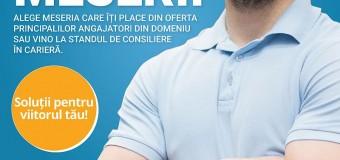 Târg de Meserii pentru învățământul profesional și tehnic.  Idee franceză pentru joburi românești.