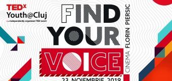 TEDxYouth@Cluj are loc în noiembrie 2019 și este dedicat tinerilor care fac lucrurile să se întâmple!