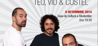 Stand Up in the City cu Teo, Vio şi Costel în cadrul Festivalului  Internaţional de Muzică şi Artă Transilvania