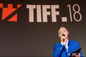 Tudor Giurgiu la deschiderea TIFF.18 - Foto Vlad Cupsa
