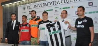 O nouă înfăţişare: Universitatea Cluj, precum campionii lumii