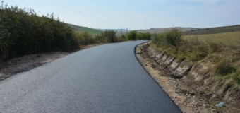 A fost finalizată asfaltarea drumului județean 109D Vișea-Gădălin