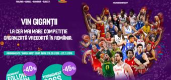 5000 de bilete vândute la EUROBASKET 2017 în România, în mai puțin de o lună de la punerea pe piață a biletelor
