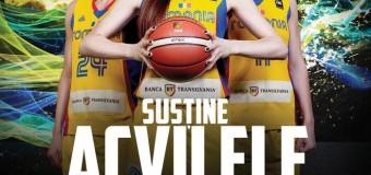"""Confruntarea Decisiva la baschet feminin – SAMBATA, iubitorii sportului sunt chemati să susțină """"Acvilele"""""""