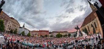 Peste 8.000 de spectatori si multiple bisuri la ZORBA- spectacolul magnific in aer liber al Operei Nationale Romane din Cluj-Napoca.
