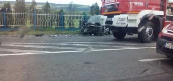 Încă un accident pe DN1 în Floreşti. 3 maşini implicate şi 2 persoane rănite.