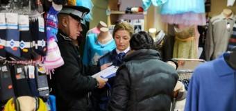Politistii locali la verificări în piețe și la atelierele de reparaţii şi dezmembări auto
