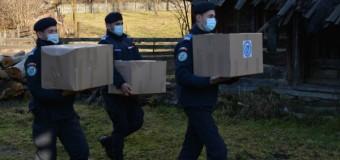 Jandarmii clujeni au început anul cu acțiuni umanitare.