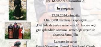 ZILELE CULTURII ARMENE sărbătorite la Muzeul Etnografic al Transilvaniei